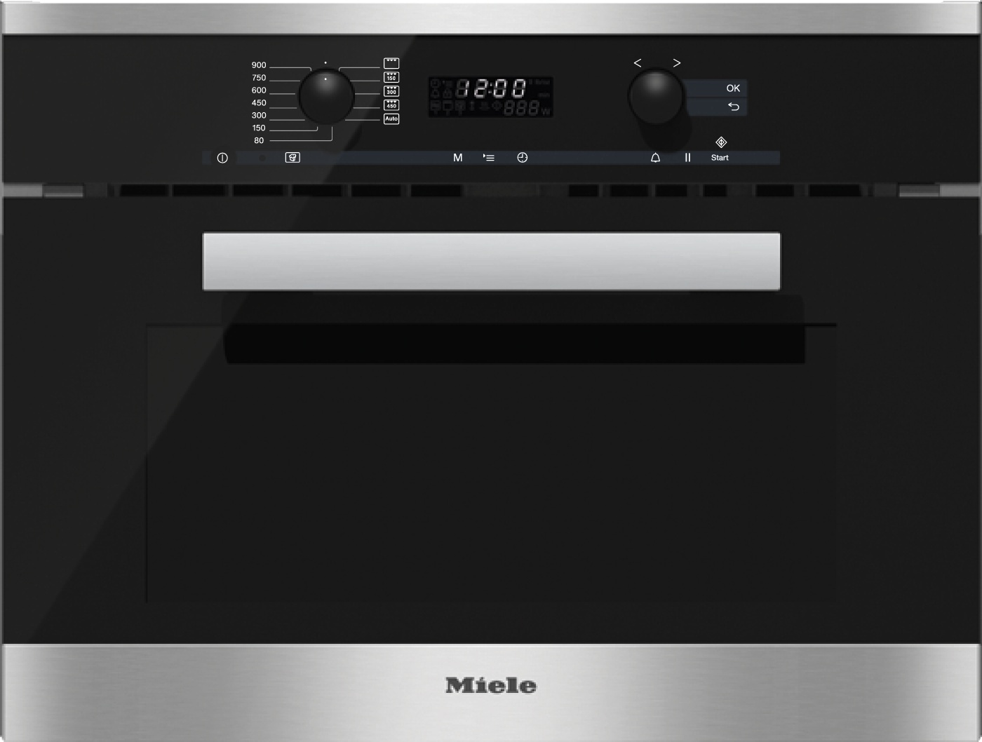 Миле M6262TC EDST/CLST сталь CleanSteel Miele